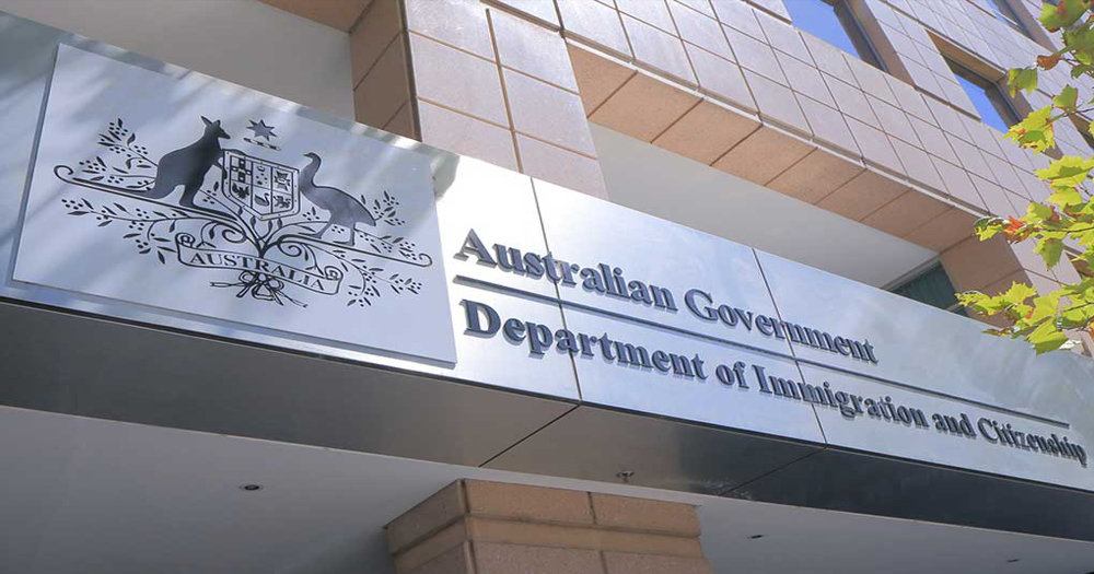 Australian immigration office, where gay asylum seekers were asked about their sex life