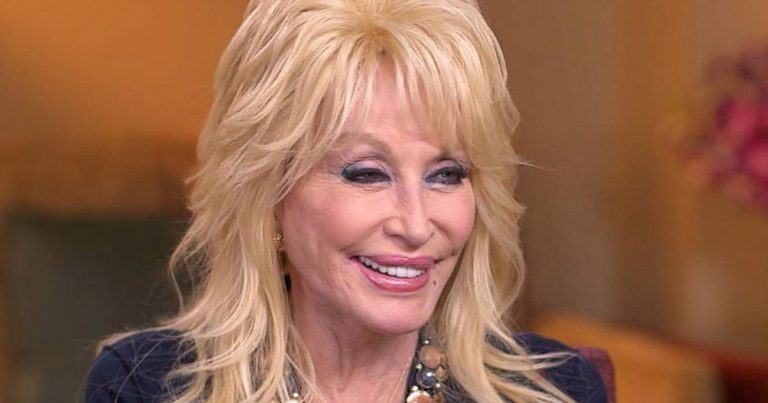 Image of Dolly Parton's face