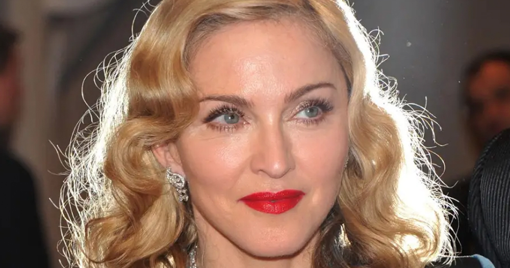 Photo of Madonna's face. The singer will be honoured at the GLAAD Awards.