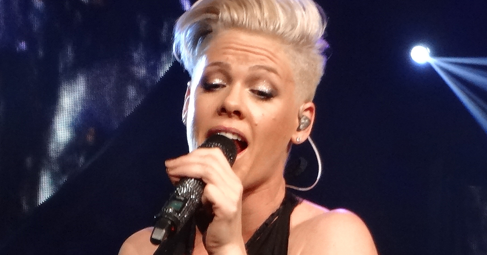 Pink Awarded 'Outstanding Contribution To Music' At BRIT Awards