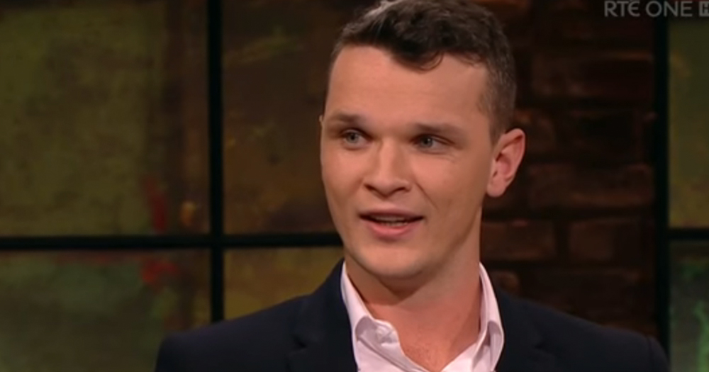 Robbie Lawlor on the Late Late Show.