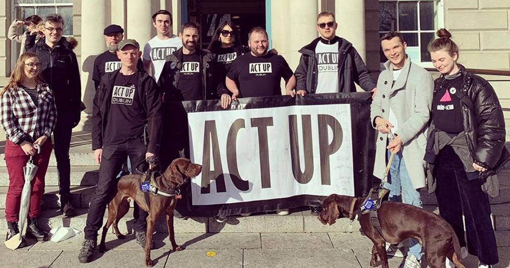 ACT UP Dublin Highlight HIV Discrimination In Ireland For UNAIDS Zero Discrimination Day