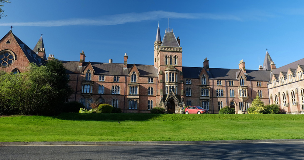 The exterior of the Belfast school Methodist College