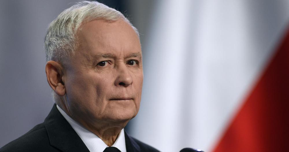 Jarosław Kaczyński, leader of Poland's ruling party