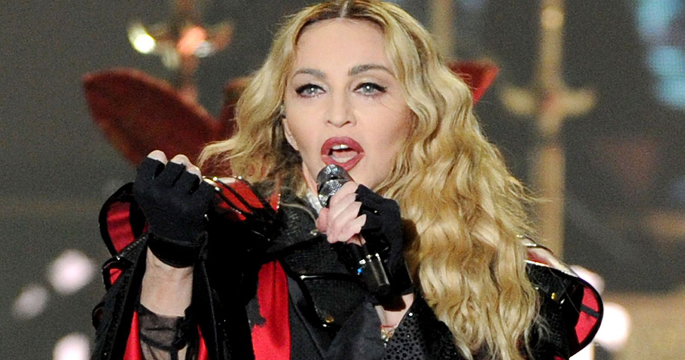 Madonna, the pop icon who will perform at Eurovision in Israel