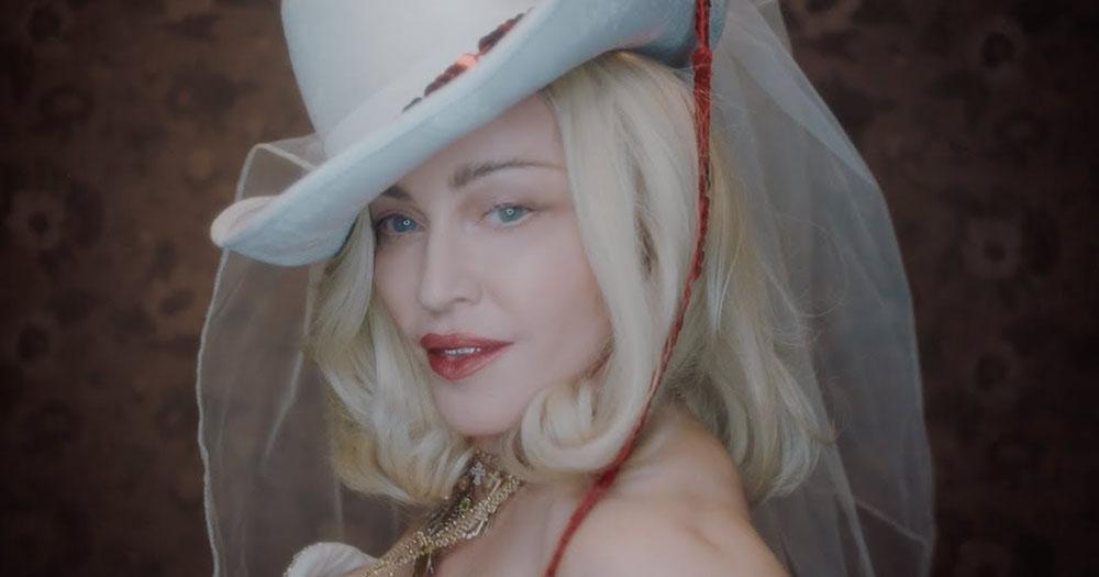 Madonna in her new album