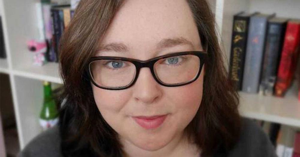 Book author Meg Grehan smiling