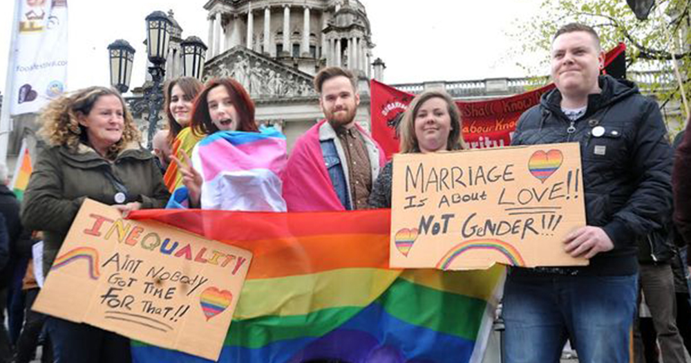 Marriage Equality Sinn Féin DUP