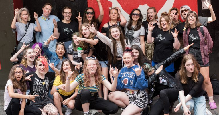 Applications are now open for the 2019 Girls Rock Dublin camp