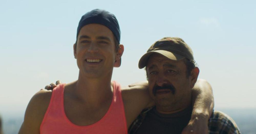 Papi Chulo stars Matt Bomer and and Alejandro Patiño