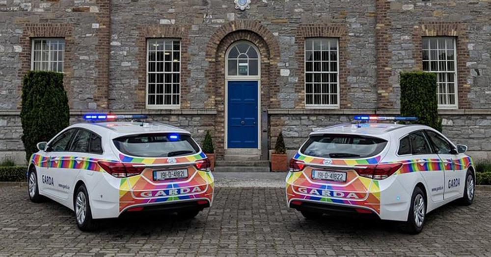 rainbow squad garda cars
