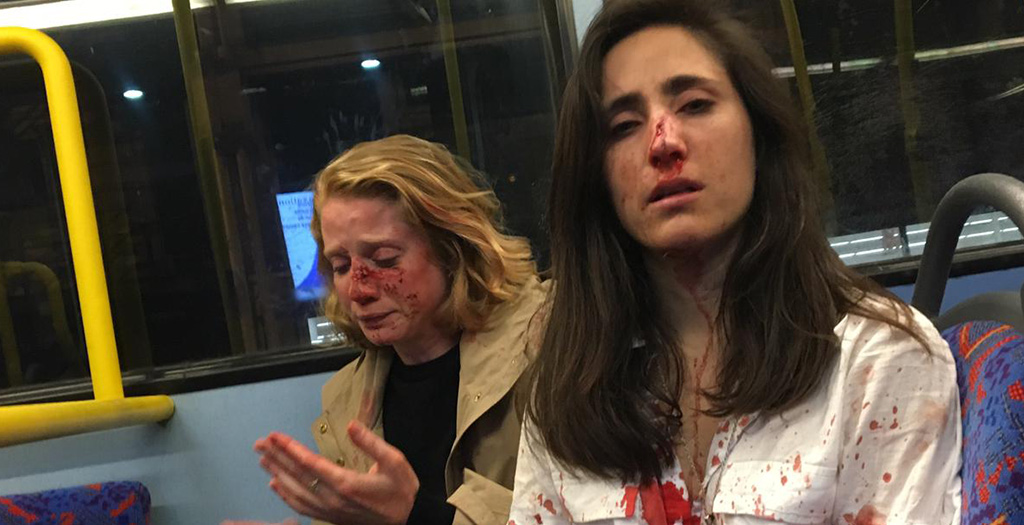 Four teenagers charged over homophobic hate crime attack on London Bus gang