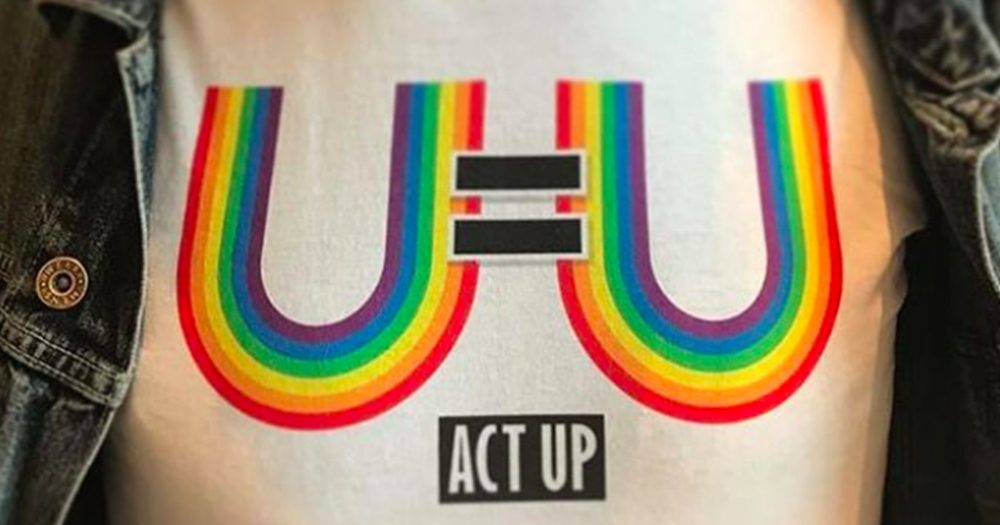 ACT Up U=U message