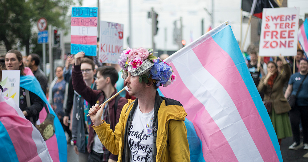 Over 1,000 people attend Trans Pride Dublin
