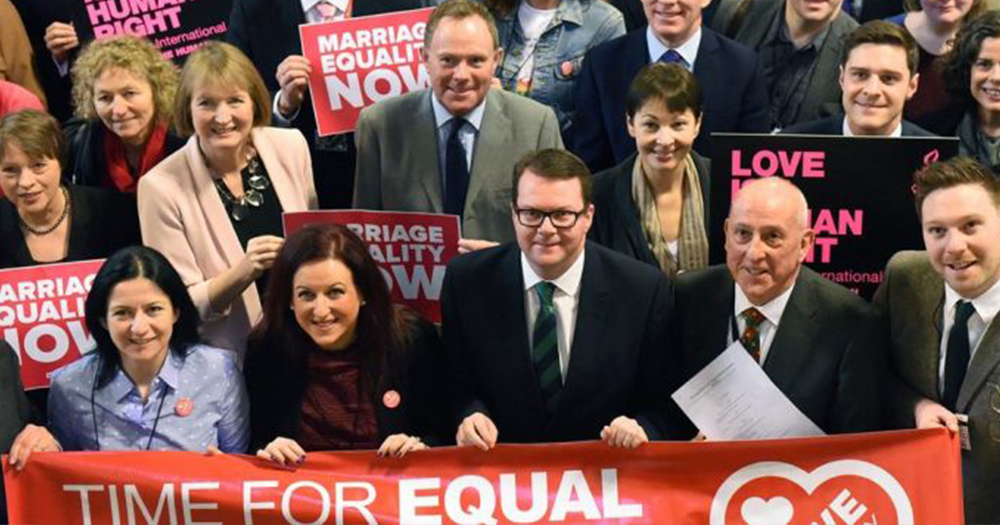 Introduction of same-sex marriage in Northern Ireland to be debated in House of Commons