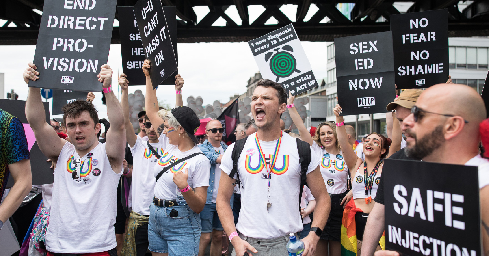ACT UP Dublin at Dublin Pride Parade