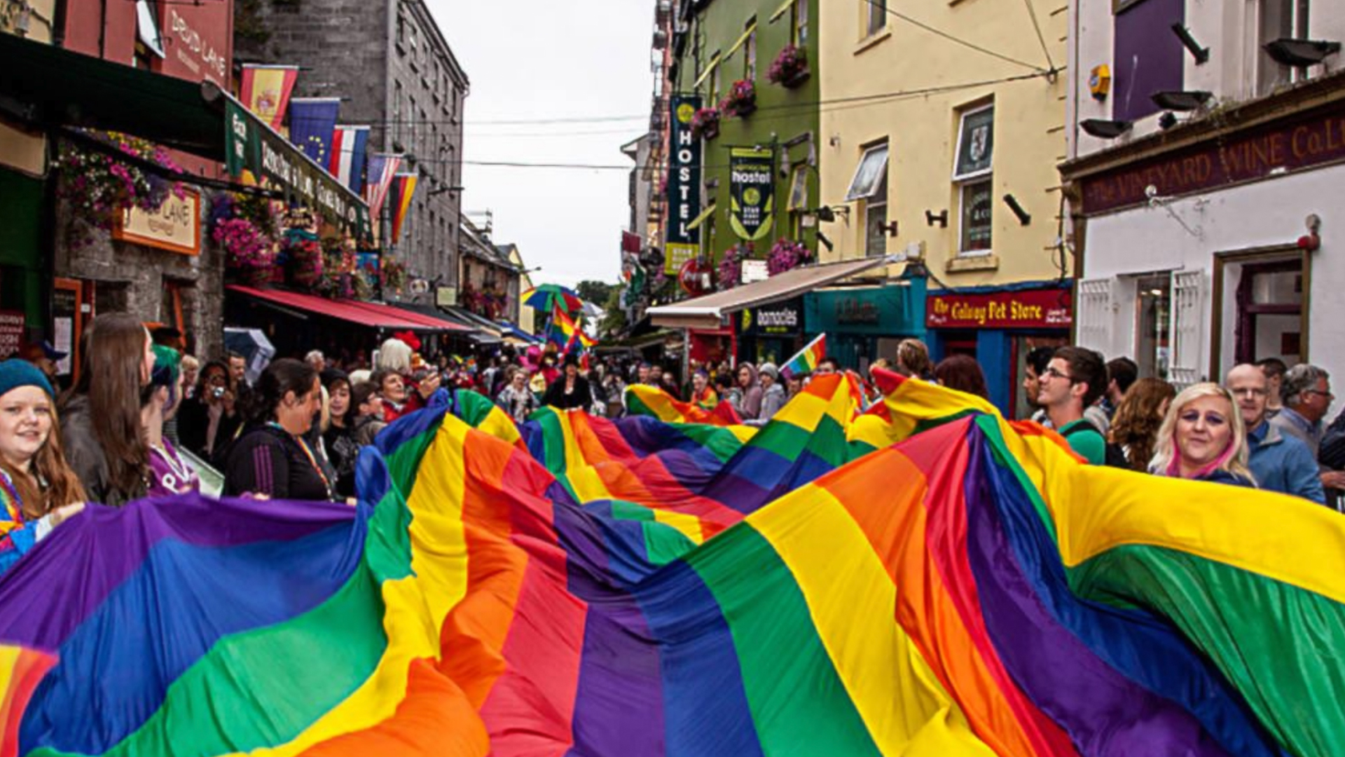 Hundreds take part in the 30th annual Galway Pride Parade