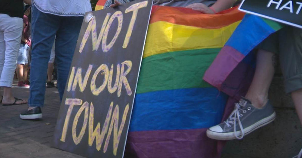 Straight Pride permit revoked