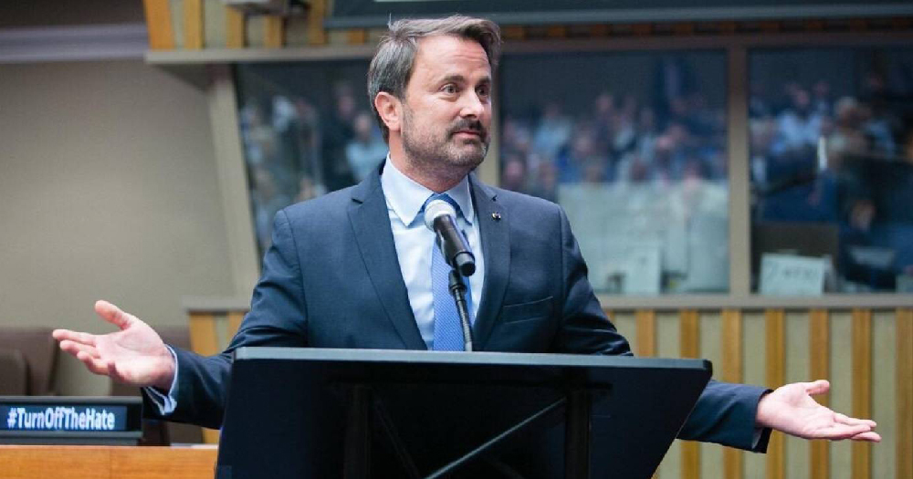 Prime minister Xavier Bettel at UN