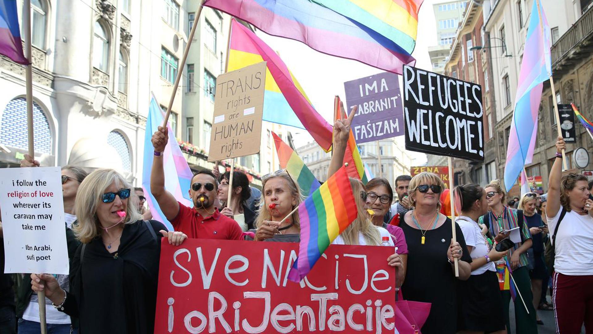 Bosnia Pride parade