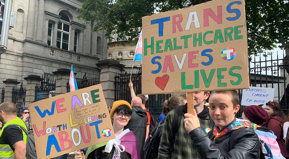 Trans Healthcare Rally