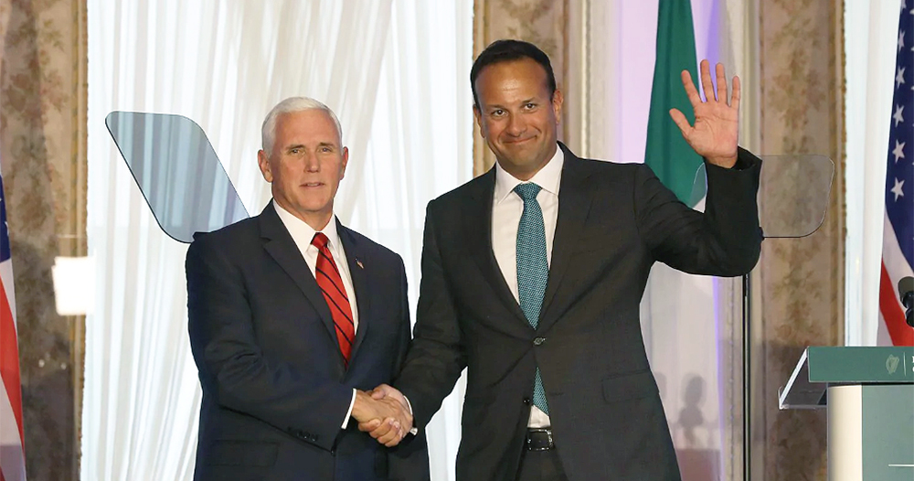 Vice President Mike Pence and Taoiseach Leo Varadkar