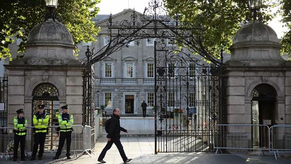Dáil Éireann where Sunday's protest for trans healthcare will be held