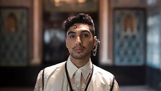 British-Indian-Pakistani pop singer Leo Kalyan