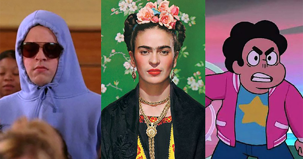 DIY Halloween costumes ideas: Damien from Mean Girls, Frida Kahlo and Stephen Universe
