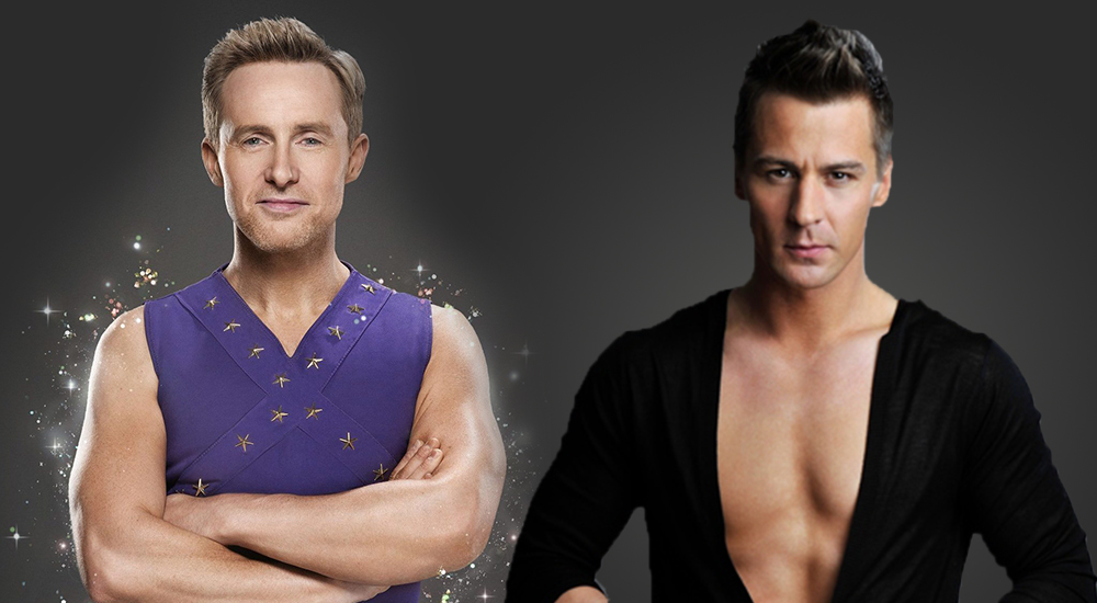 dancing on ice contestant H with professional Matt Evers