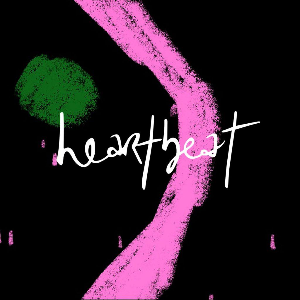 Cover of the single Heartbeat by Elaine Mai