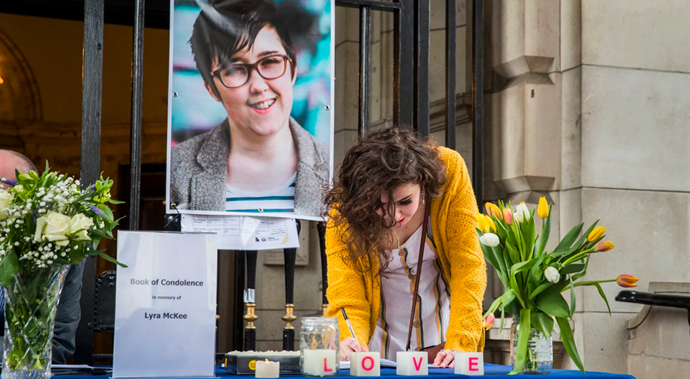 Northern Ireland Office Lyra McKee