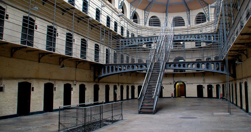 Kilmainham Gaol where queer history tour will be hosted this Saturday