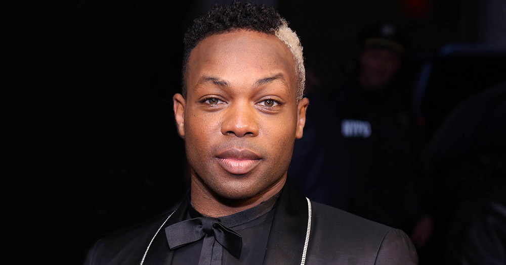 Todrick Hall wearing a suit
