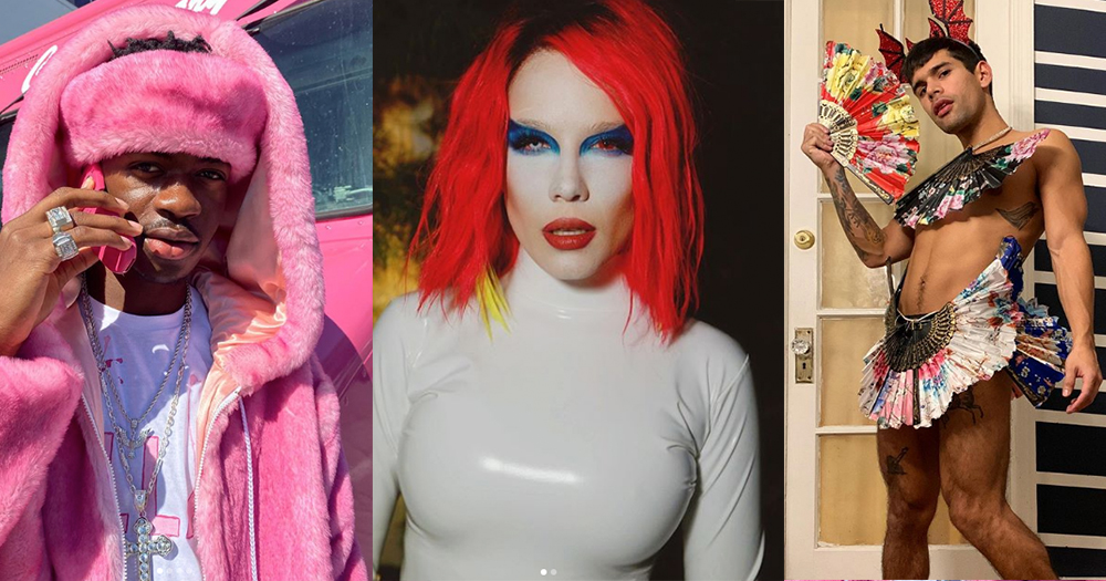 LGBT+ celebrities dressed up for Halloween