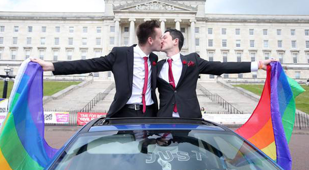 Civil partnered couples in Northern Ireland will be unable to convert to married status