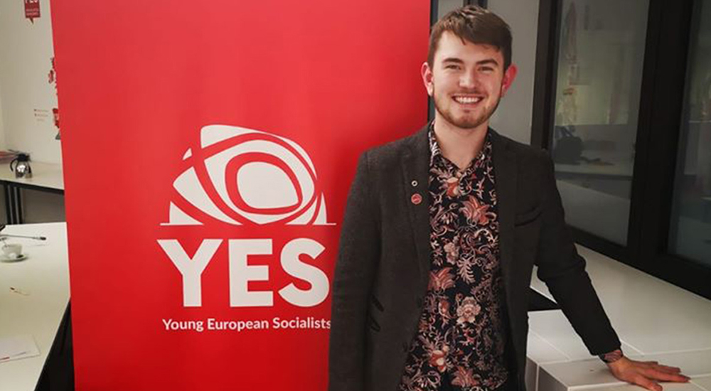 Labour Youth leader Cormac Ó Braonáin