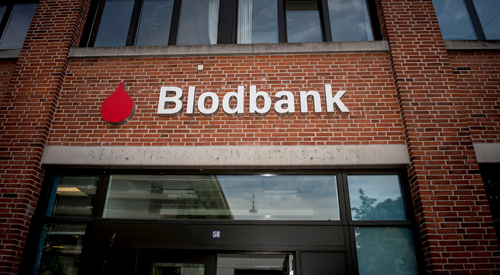Denmark blood bank