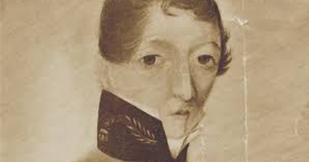 A drawing of Dr James Barry, who was featured in an RTE documentary
