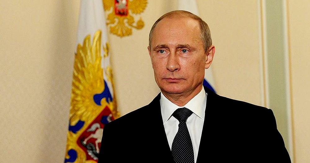 President of Russia, Vladimir Putin, said he opposed same-sex marriage only weeks after the killer of a gay man was cleared by a jury.