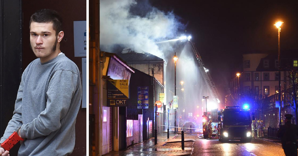 arson attack Derry
