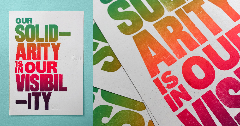 Picture of a Pride Print