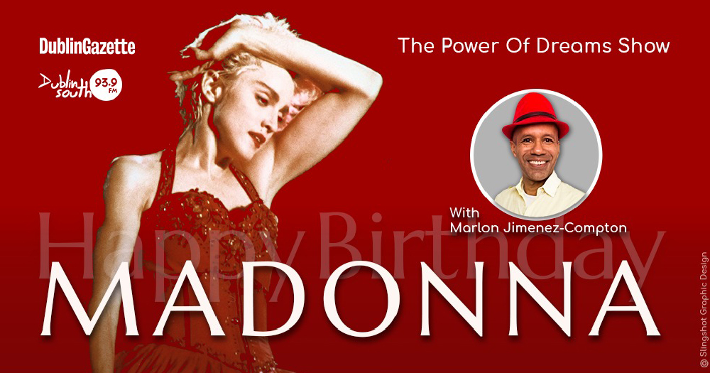 Madonna episode of Marlon radio show poster