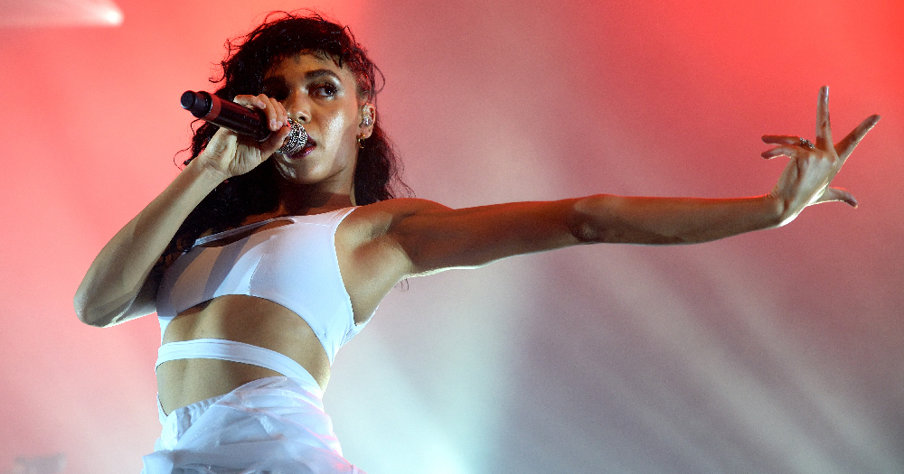 FKA Twigs (band) in concert at Sonar Festival on June 20, 2015 in Barcelona, Spain.