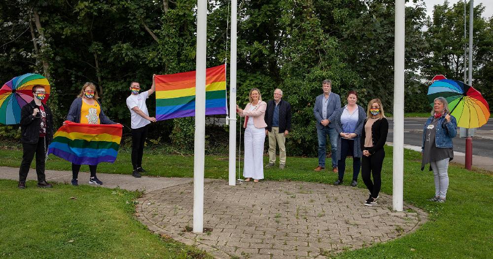 tipperary-clonmel-pride-kicks-lgbt-rainbow-pride-flag-lit