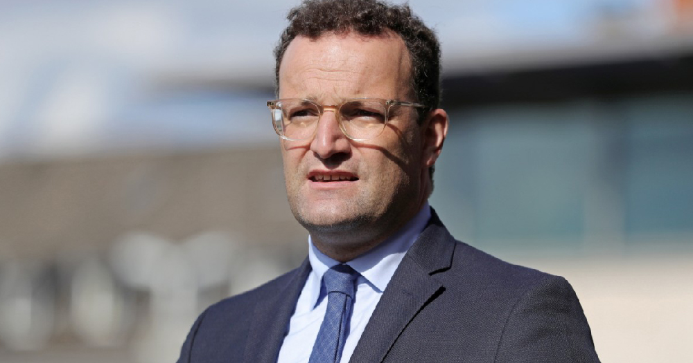 Jens Spahn targetted by COVID Deniers
