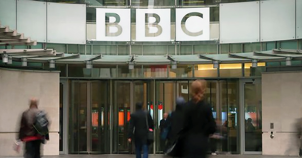 BBC building. The network has recently faced backlash for their new guidelines