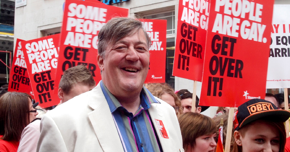 Stephen Fry World Mental Health Day