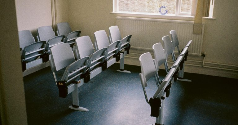 Reopening GMHS chairs in the waiting room of the GMHS clinic