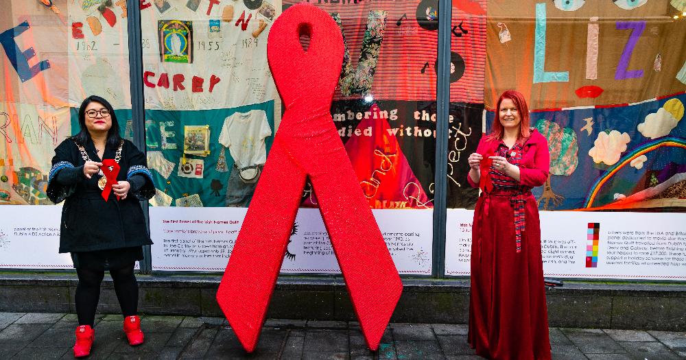 president-ireland-addresses-world-aids-day-irish-names-quilt-unveiled